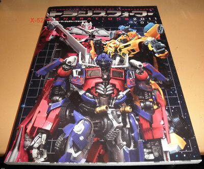 TRANSFORMERS toy guide JAPAN book GENERATIONS bandai optimus prime bumblebee