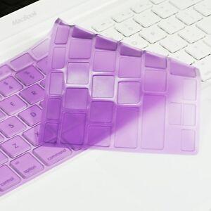 NEW-ARRIVAL-PURPLE-TPU-Keyboard-Cover-Skin-for-APPLE-Old-Macbook-White-A1181