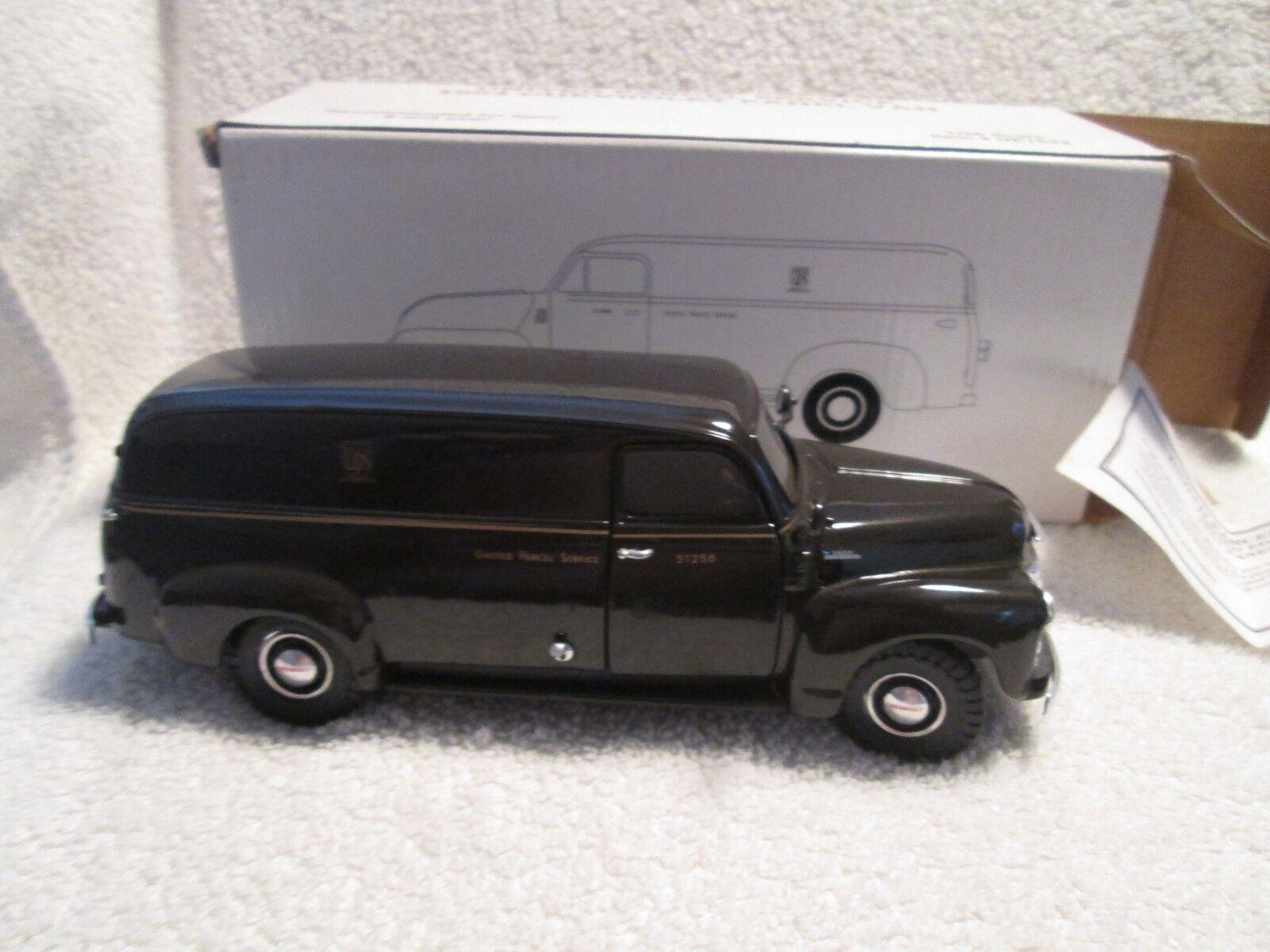 Unis Colis Service 1954 Chevy Panneau Van 1 28 Echelle Hermann