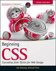 Beginning CSS: Cascading Style Sheets for Web Design by Richard York, Ian Pouncey (Paperback, 2011)