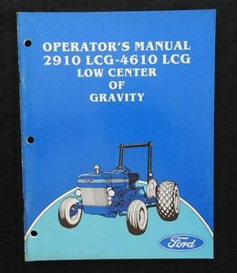genuine ford   lcg  center  gravity tractor