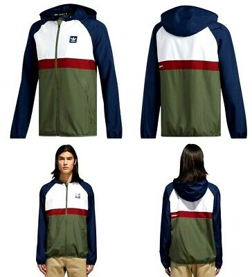 98780e6aa0 Adidas BB Packable Wind Jacket Navy / White / Green Size Small Mens ...