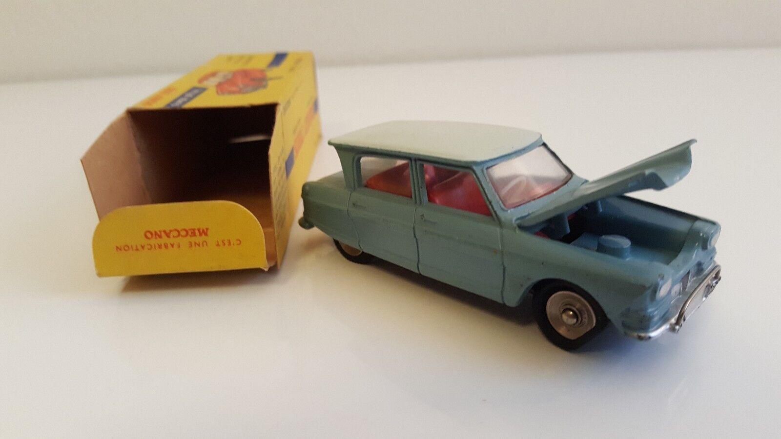 Dinky Toys - 557 - Citroën Ami 6 en boîte d'origine N Mib (DTF, Pas Atlas)