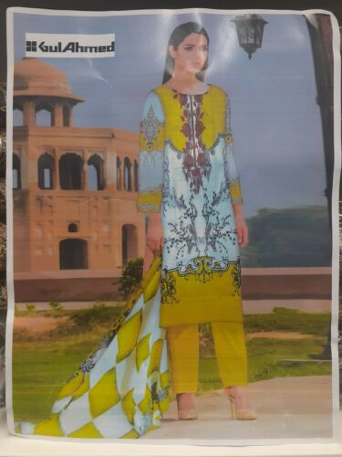 Gul Ahmed khaddar suit stitched size Small