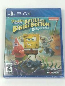New & Sealed Spongebob Squarepants Battle for Bikini Bottom RehydratedPS4