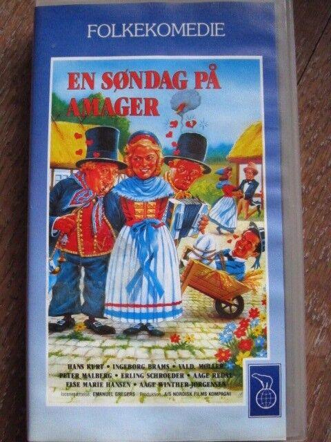 Gl dansk VHS familiefilm en søndag på Amager