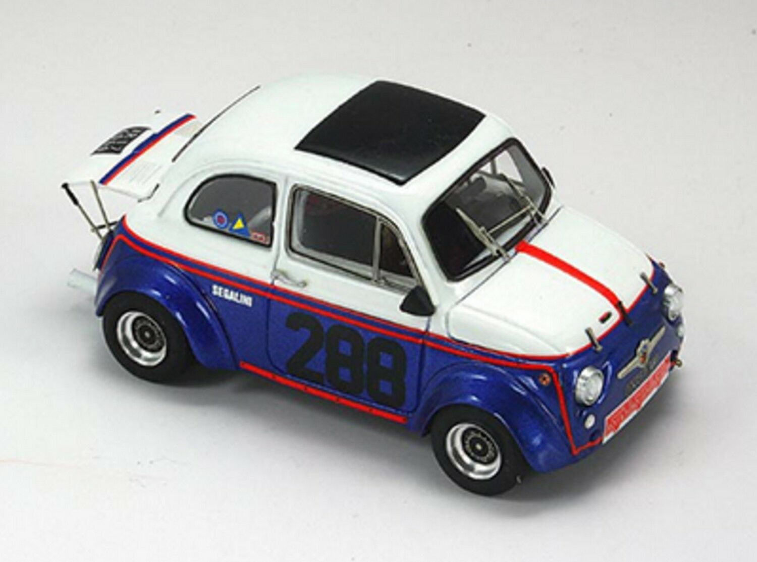 Kit Abarth 695 SS SS SS Gr.2  288 Bressanone-S.Andrea 1977 - Arena Models kit 5c6a32