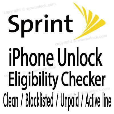 Sprint Imei Check