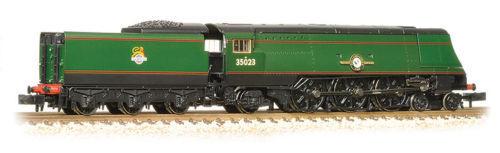 Graham Farish 372-311 Merchant Navy BR BR BR green early emblem BNIB N scale e56c39