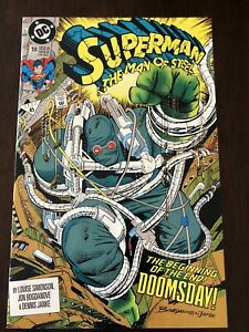 DC-Comics-Superman-The-Man-of-Steel-18-NM-First-Full-Appearance-Doomsday