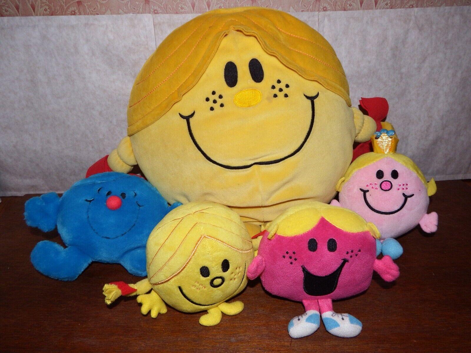 Bundle Mr Men & Little Miss soft soft soft plush figure toy playset Perfect Sunshine Chat 2b53a8