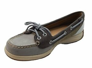 5 Sperry Boat 44212708866 Shoe Laguna 5 Top Damen Charcoal sts92465 Graphit sider 61COq