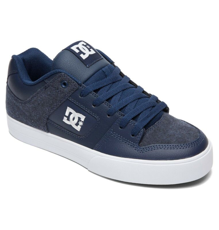 Dc Shoes Skate Pure Se Navy 301024 Nvy Mens Uk Sizes 8 - 13