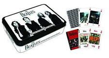 The Beatles: Special Edition Playing Card Set x 2 - New & Official In Sealed Tin