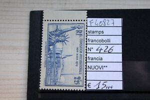 FRANCOBOLLI-STAMPS-FRANCIA-NUOVI-MNH-N-426-F40827