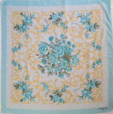 -Superbe Foulard  LORIS AZZARO TBEG  vintage scarf  88 x 88 cm