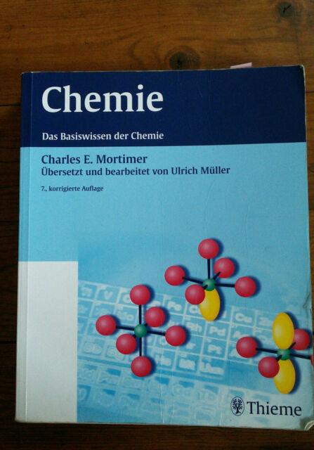 Chemie von Charles E. Mortimer und Ulrich Müller (Taschenbuch)