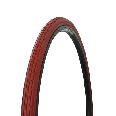 Wanda Bicycle Tire 700 x 35C Red//Red Sidewall P-1180 NEW