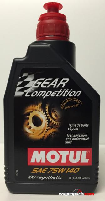 Lubricante Competición Puentes Diferenciales Motul Gear Competition 75W140, 1 L