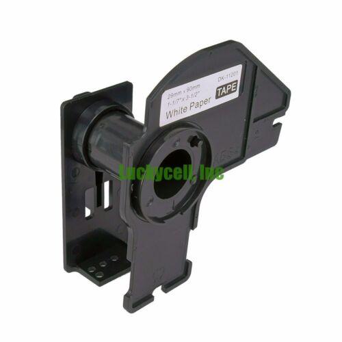 1 Cartridge for Brother DK1201 Address Label QL 500 550 570 580N 650TD 700 1050