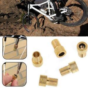 Adaptateur-valve-Presta-a-Schrader-Embout-pompe-a-velo-moto-metal