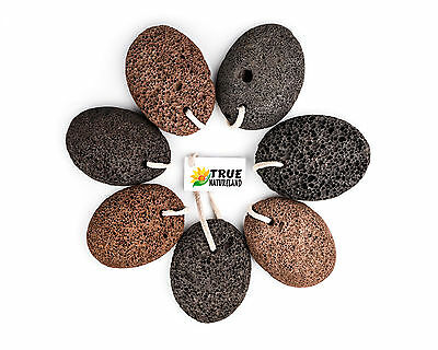 Volcanic Foot Pumice Stone Natural Heels Care Callus Hard Skin Remover Oval