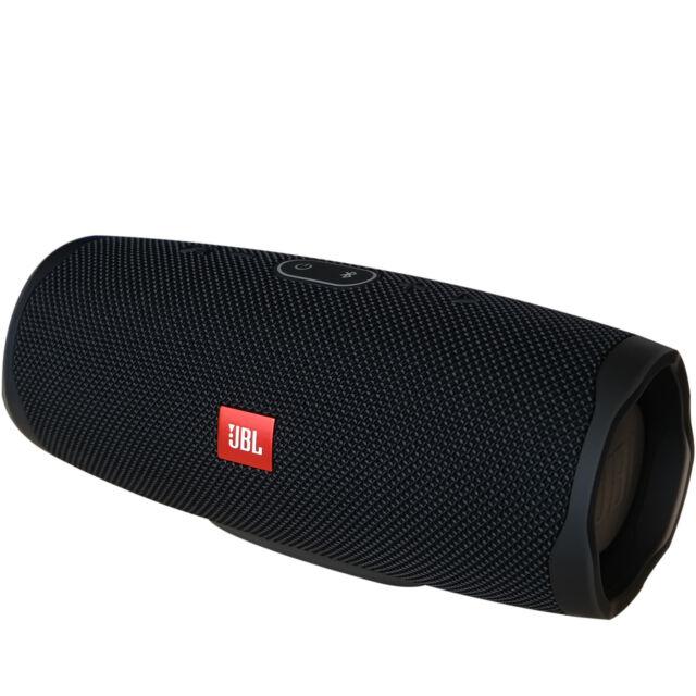 JBL Charge 4 Bluetooth-Lautsprecher – wasserfeste, portable Boombox schwarz