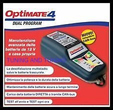 NUOVO CARICA BATTERIE SCOOTER MOTO TECMATE OPTIMATE 4 PER HARLEY ( CAN-BUS)