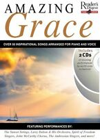 Reader's Digest Piano Library: Amazing Grace Sheet Music Book 2-cd Pac 014026957