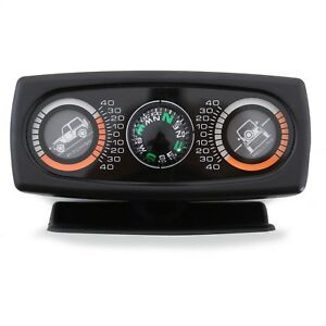 OFF ROAD TOUGH TRUCK INCLINOMETER ANGLE DEGREE ROLLING PITCH GAUGE METER JEEP 87