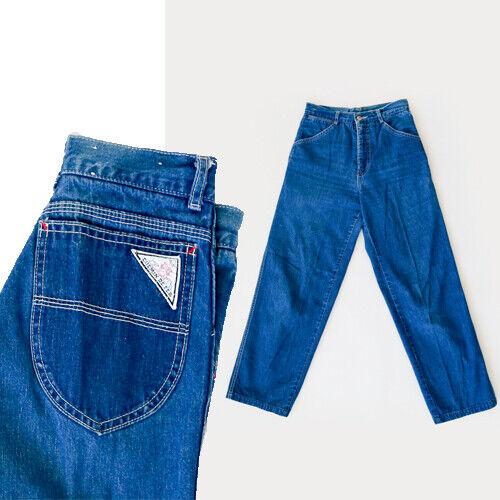 Vintage 70s Chemin De Fer jeans W26 L30