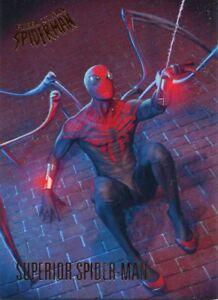 Spiderman Fleer Ultra 2017 Base Card #25 Ultimate Spider-Man