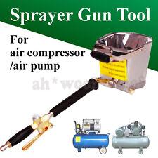 Air Stucco Cement Plaster Texture Hopper Sprayer Gun Wall Plastering Hand Tool