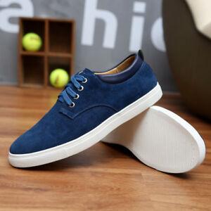 d3ed809cf86d 2018 Men Shoes Suede Leather Big Size Men s Casual Shoes Style Flats ...