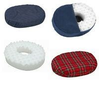 Donut Pillow Convoluted Foam Ring Cushion, 16in, 18in, -2 Color Choices