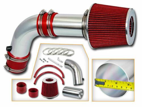 Short Ram Air Intake Kit RED Filter for 03-06 Acura TSX Honda Accord 2.4L