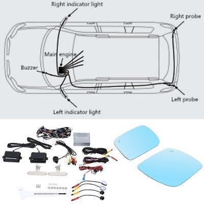 Car Radar Sensor Bsd Blind Spot Detection System Fits For
