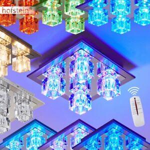 deckenleuchte design led farbwechsel lampe mit fernbedienung leuchte deckenlampe ebay. Black Bedroom Furniture Sets. Home Design Ideas