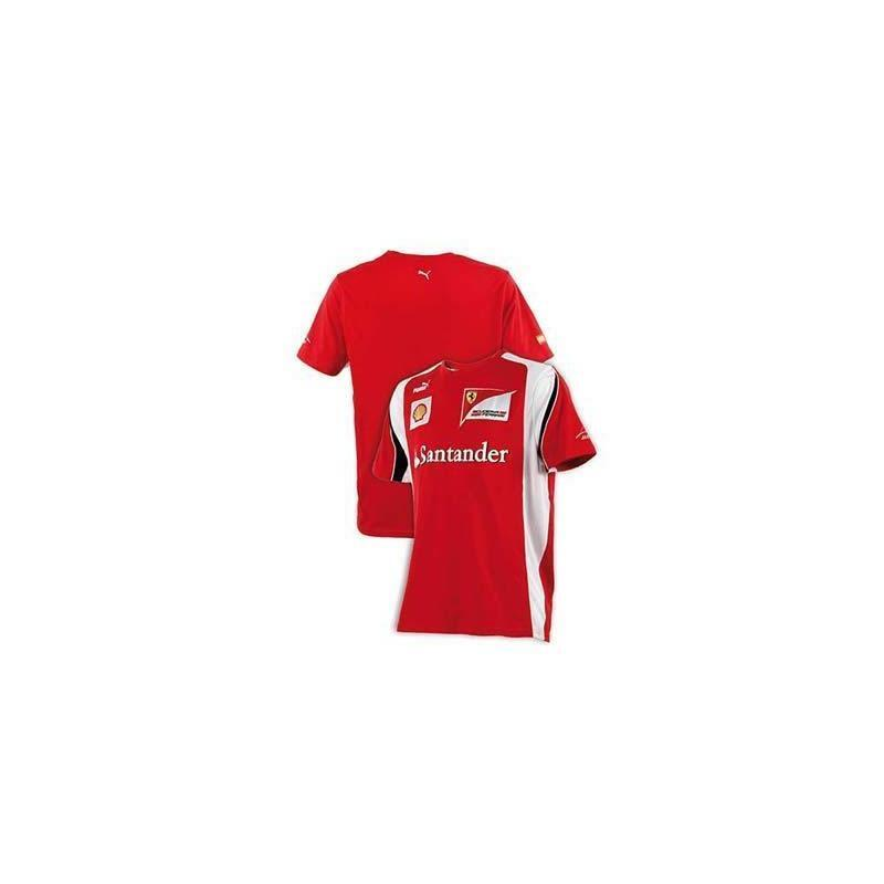 T-shirt uomo Ferrari Alonso F1 taglia 2012 rosso taglia F1 L 62d91a