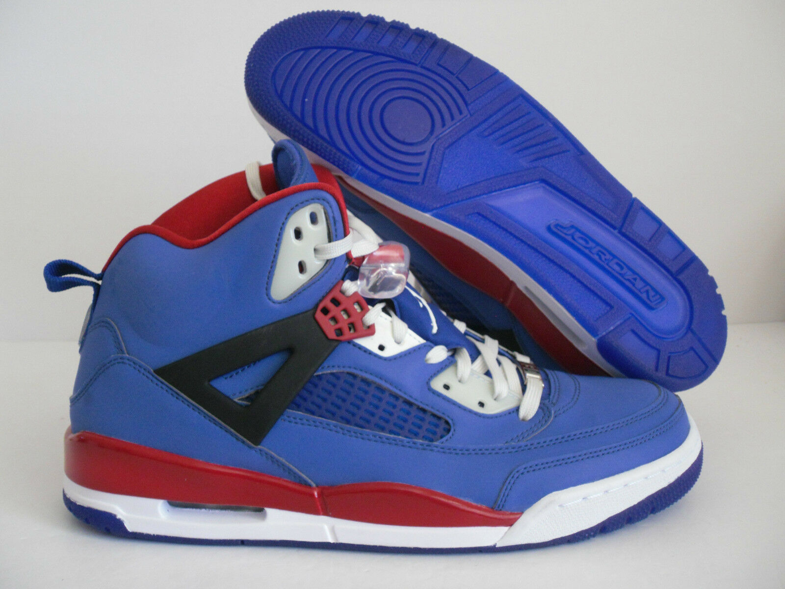 NIKE AIR JORDAN SPIZIKE iD [605236-995] BLUE-RED-WHITE 3M SZ 11.5 [605236-995] iD f65b7d