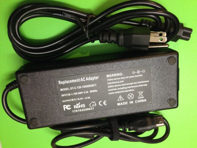 120W AC Adapter laptop charger cord for HP PA-1121-12HD Pavilion ZV6100 X6007