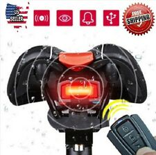 Alarm Remote Control For Bicycle Wireless Rear Light Cycling Anti Theft Lock USB