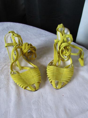 Jaune Clergerie Chaussures Robert En Daim 36 htdsQr