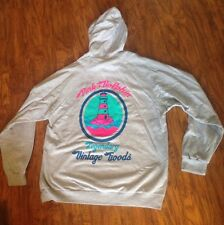 PINK DOLPHIN ANCHOR HOODIE JACKET GRAY SIZE XLARGE!!! 100% AUTHENTIC!! LIMITED!!