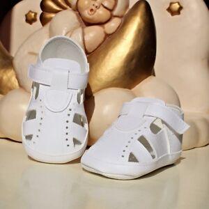 SANDALI-eleganti-bambino-neonato-BATTESIMO-cerimonia-colore-bianco-cod-2078