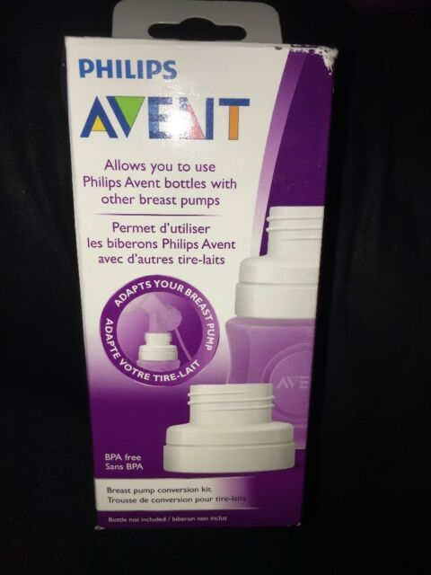 5 Philips Avent Breast Pump Conversion Kits For Sale Online Ebay