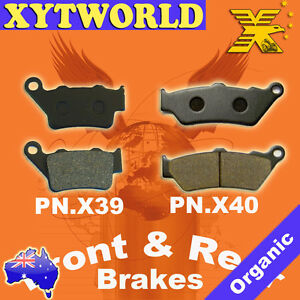 Front Rear Brake Pads for BMW C1 125 200 1999-2003