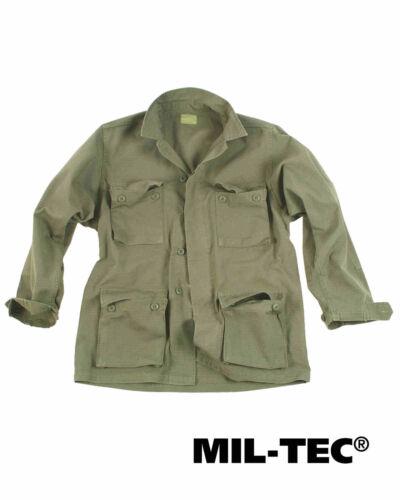 Mil-Tec US Veste de Champ Type Bdu R//S Co PREWASH Olive Impermeable Veste