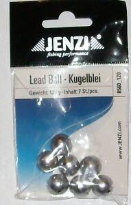 1Packung-mit-7-STK-Kugelblei-Blei-von-12-gramm-Jenzi