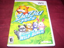 ZHU ZHU PETS FEATURING THE WILD BUNCH Wii FACTORY SEALED!!!  C@@L!!!